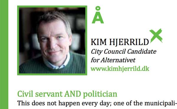 Kim Hjerrild Civil Servant AND Politicien
